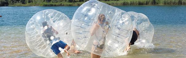 Bubble Soccer<br/>Kicken und kugeln